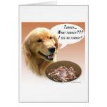 Golden Retriever Turkey Greeting Cards
