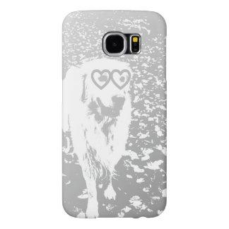 Golden Retriever Valentine Samsung galaxy s6 case
