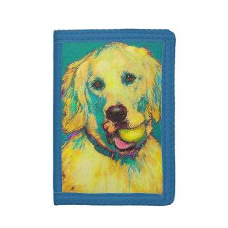 golden retriever wallet