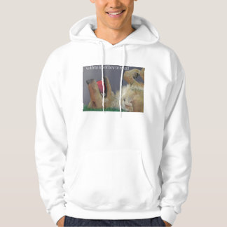 Golden Retriever with Ball Sweatshirt