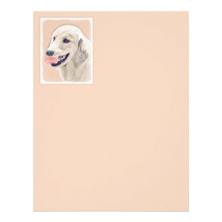 Golden Retriever with Tennis Ball Letterhead
