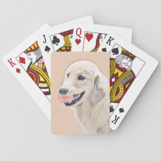 Golden Retriever with Tennis Ball Playing Cards