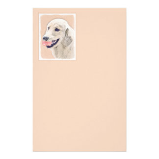 Golden Retriever with Tennis Ball Stationery