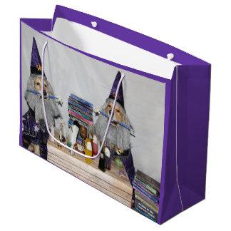 Golden Retriever Wizard's Workshop Large Gift Bag