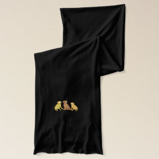 Golden Retrievers Scarf