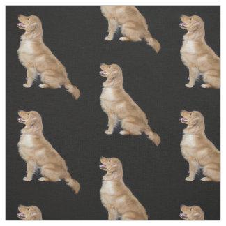 Golden Retriver Fabric