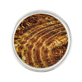 Golden Ripples Lapel Pin