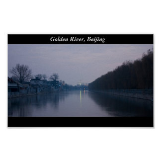 Golden River, Beijing Poster