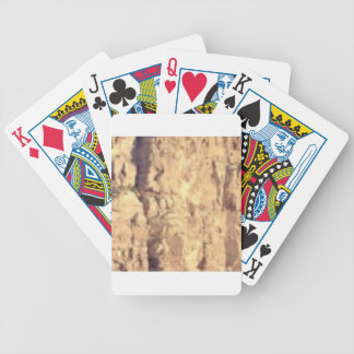 golden rock fill bicycle playing cards