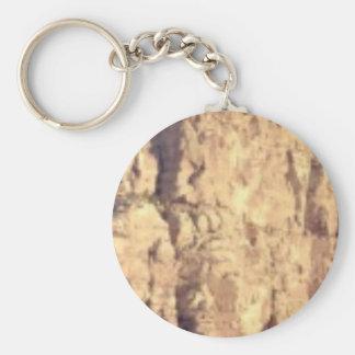 golden rock fill keychain