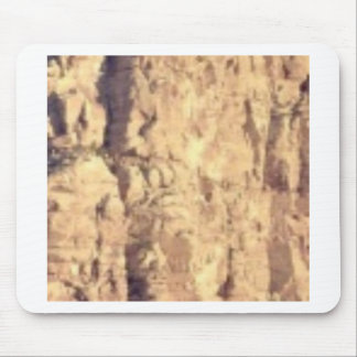 golden rock fill mouse pad