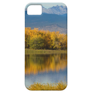 Golden Rocky Mountain Front Range View Case For The iPhone 5