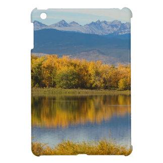Golden Rocky Mountain Front Range View iPad Mini Case