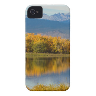 Golden Rocky Mountain Front Range View iPhone 4 Case