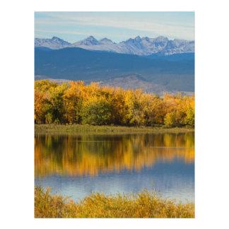 Golden Rocky Mountain Front Range View Letterhead