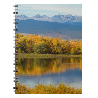 Golden Rocky Mountain Front Range View Notebooks