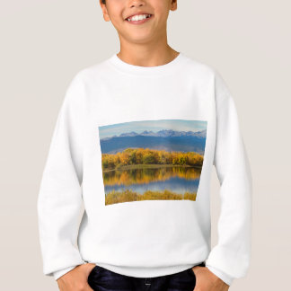 Golden Rocky Mountain Front Range View Sweatshirt