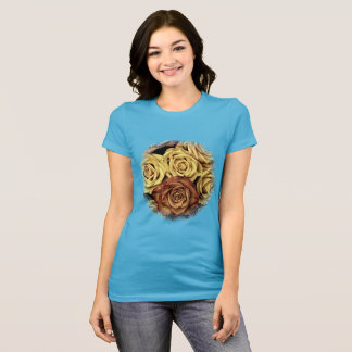 Golden Rose Bouquet T-Shirt