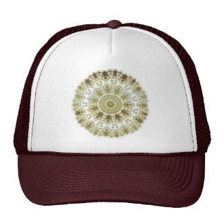 Golden Rose Kaleidoscope hat