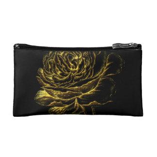 Golden Rose Makeup Bag