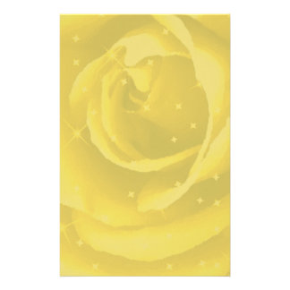 Golden Rose_ Stationery