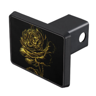 Golden Rose Trailer Hitch Cover