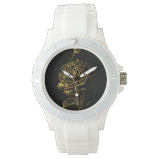 Golden Rose Watch