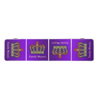Golden Royal Crown gradients BG II + your & ideas Pong Table