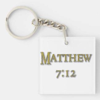 Golden Rule Keychain