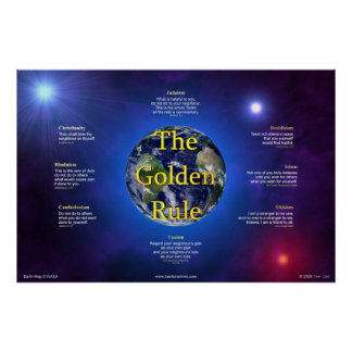 Golden Rule Poster (Horizontal)