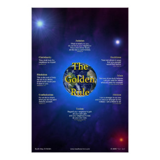 Golden Rule Poster (Vertical)