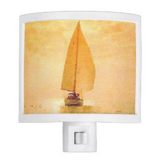 Golden Sail Night Light