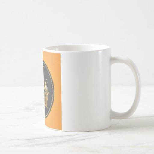 Golden-Sailboat.ai Coffee Mugs