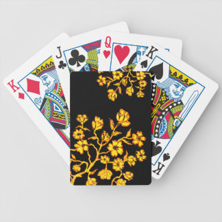 Golden Sakura Art 2 Bicycle Playing Cards