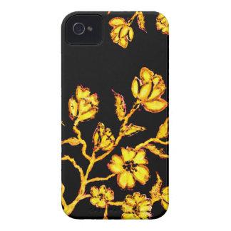 Golden Sakura Art 2 iPhone 4 Case