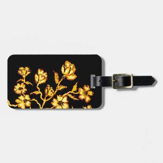 Golden Sakura Art 2 Luggage Tag