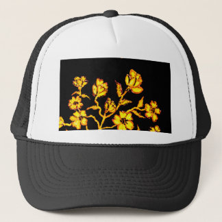 Golden Sakura Art 2 Trucker Hat