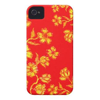 Golden Sakura Art 3 iPhone 4 Case