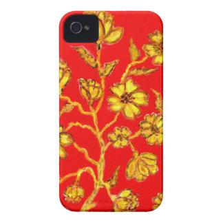 Golden Sakura Art iPhone 4 Case-Mate Case