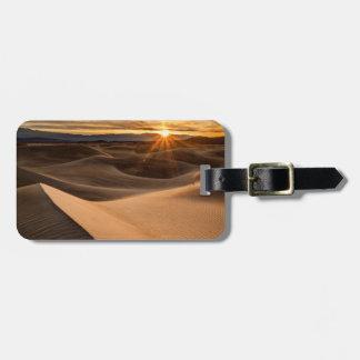 Golden Sand dunes, Death Valley, CA Bag Tag
