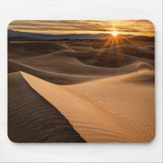Golden Sand dunes, Death Valley, CA Mouse Pad