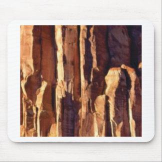 golden sandstone pillars mouse pad