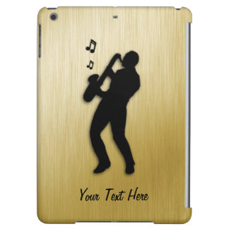 Golden Saxophone Player Cover For iPad Air