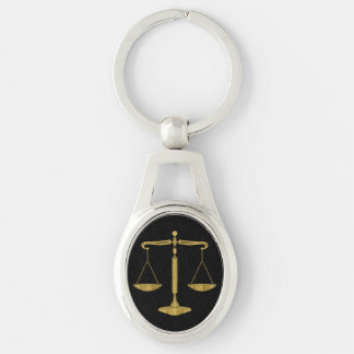 Golden Scales of Justice | Lawyers Keychain