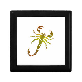 Golden Scorpion Jewelry Boxes