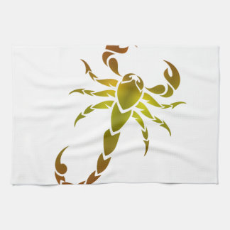 Golden Scorpion Towel
