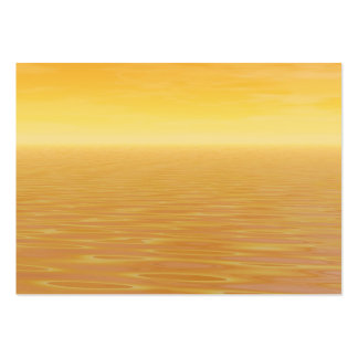 Golden Sea Pack Of Chubby Business Cards