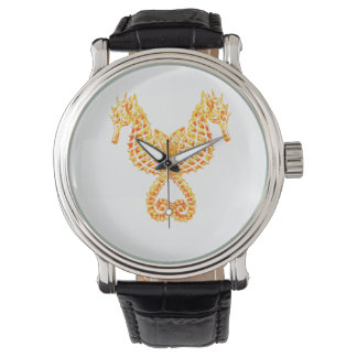 Golden Seahorses Watch