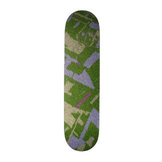 Golden Section Green Skateboard Deck