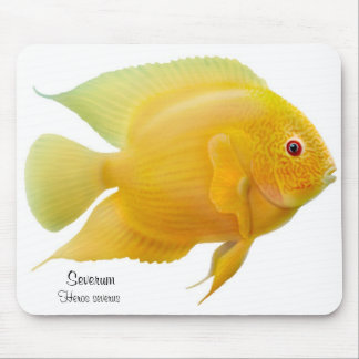 Golden Severum Cichlid Mousepad